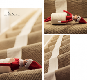 elf on the shelf stairs