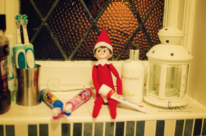 elf on the shelf toothpaste