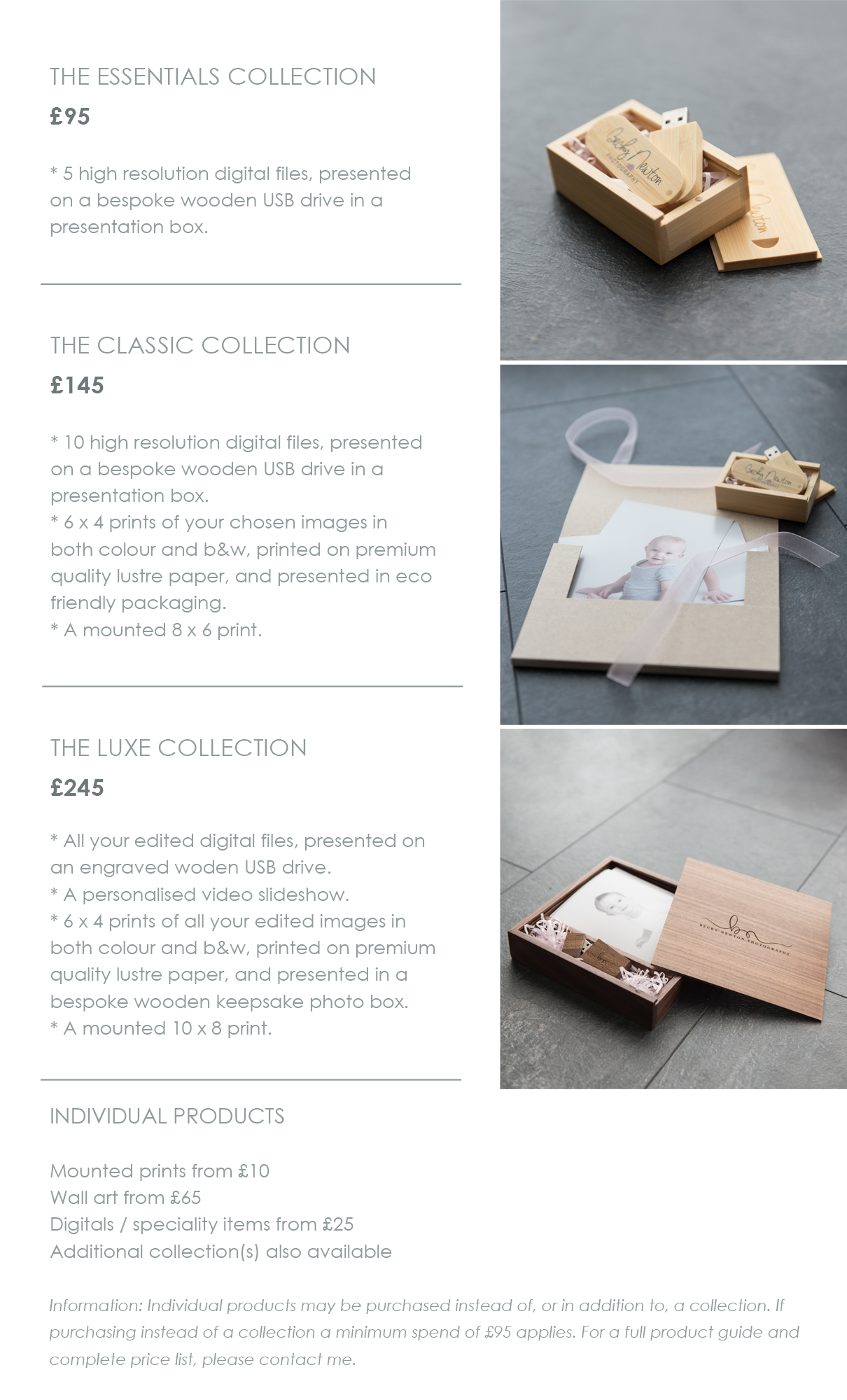 Collections starting from just £95